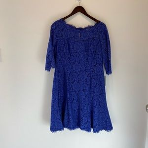 NWT's Eliza J Blue Lace Easter Dress Size 14